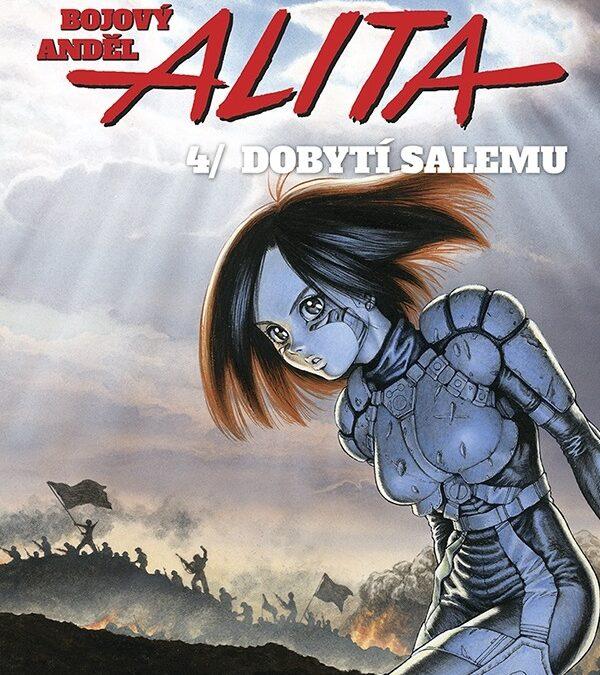 Bojový anděl Alita 4: Dobytí Salemu – Finále série.
