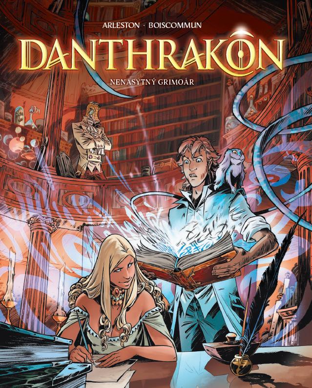 Danthrakon 1: Nenasytný grimoár.