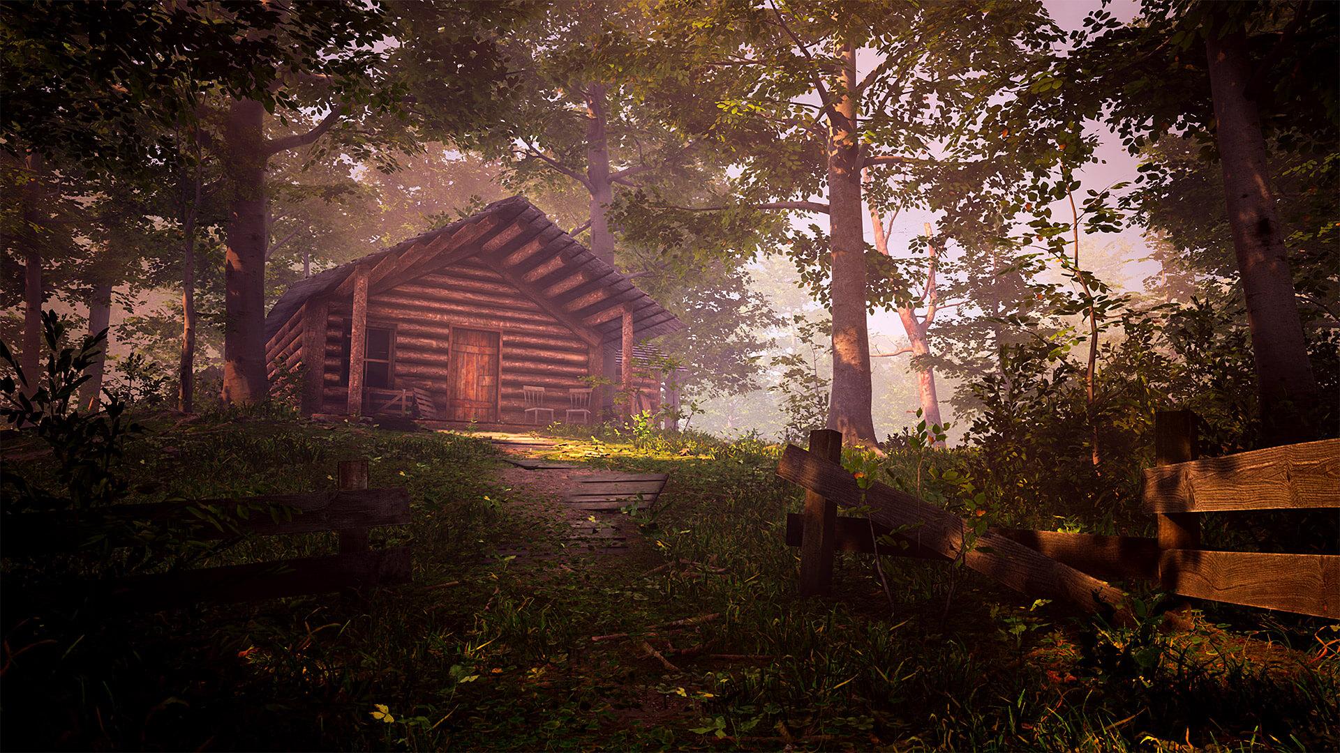 The Fabled Woods – Mysteriózny simulátor chôdze.