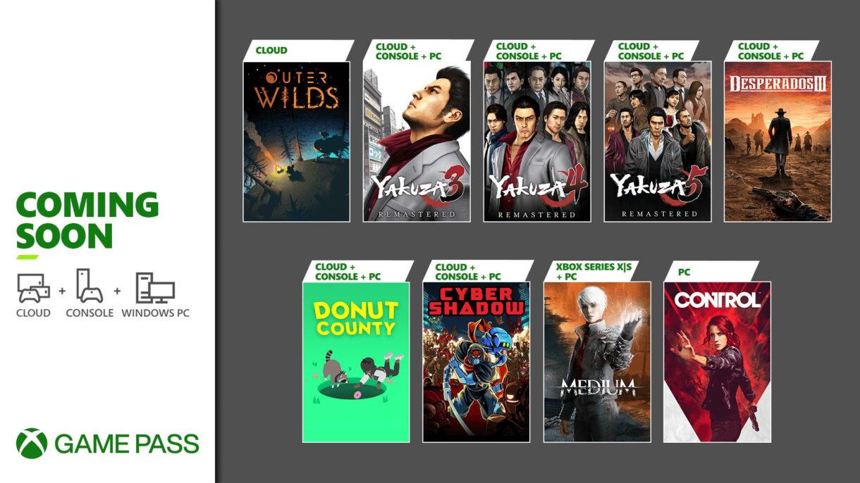 Silná ponuka hier pre Game Pass od Microsoftu.
