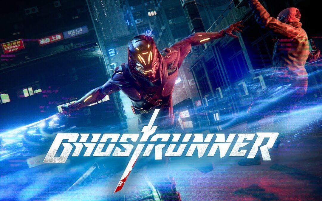 Ghostrunner – Vydarená akcia s kybernetickým nindžom v hlavnej úlohe.