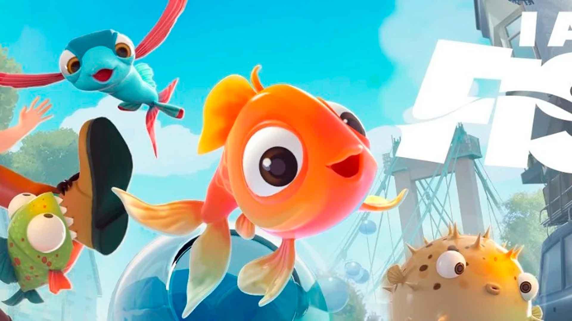 I Am Fish – Dobrodružstvo štyroch malých rýb.