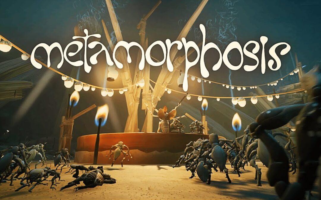 Metamorphosis – Vyskúšajte si hranie za švába.