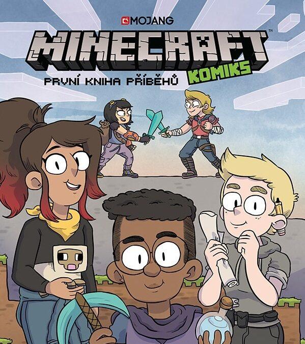 Minecraft komiks – První kniha příběhů