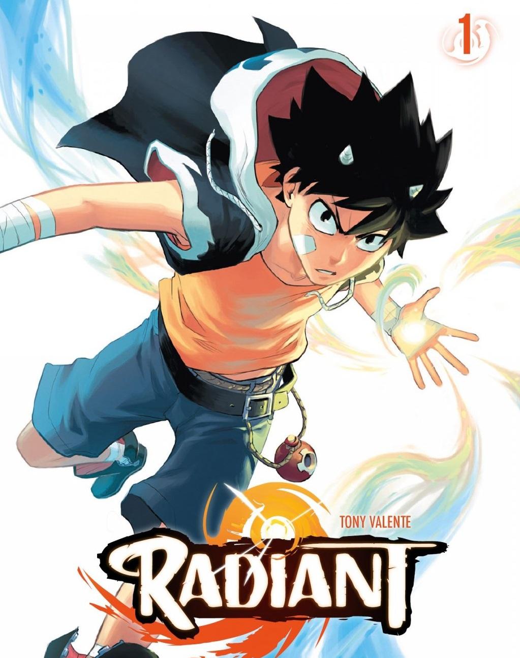 Radiant 1 – Vydarená manga z Francúzska