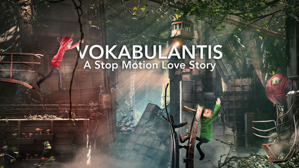 Vokabulantis – Stop-motion plošinovka úspešná na Kickstarteri.