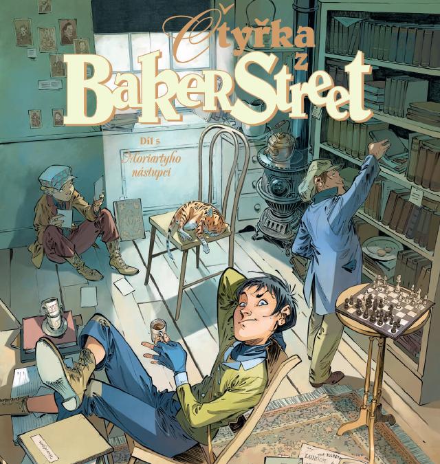 Čtyřka z Baker Street 5: Moriartyho nástupci